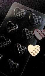 Молд пластиковий Серце