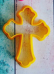 Вырубка для пряника Крест №1