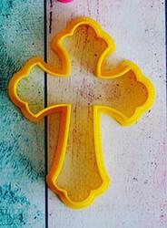 Вирубка для пряника Хрест №1