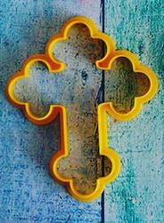 Вирубка для пряника Хрест №2