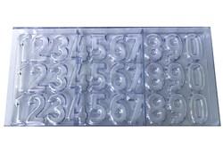 Поликарбонатная форма для конфет Цифры