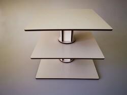 Підставка під торт Кубик-рубик №2 3 яруси дсп (Розбірний)