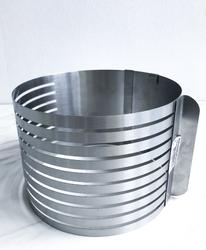 Форма раздвижная для резки бисквита 9 прорезей №4 от 250мм до 300мм