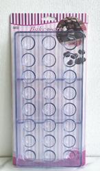 Поликарбонатная форма для конфет Полусфера 24 шт.