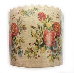 Форма пасхальная бумажная d110мм Цветы №1