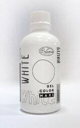 Барвник гелевий Criamo Maxi Білий / White 125г.