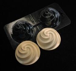 Молд пластиковый 3Д - Пирожное