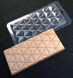 Молд пластиковий Плитка шоколаду №4