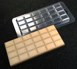 Молд пластиковий Плитка шоколаду №6