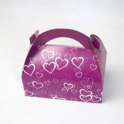 Коробка Сундучок 170х120х80 Фиолет