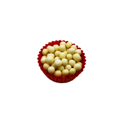 Декор з білого шоколаду - Callebaut Crispearls White 20г.