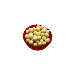 Декор з білого шоколаду - Callebaut Crispearls White 100г.