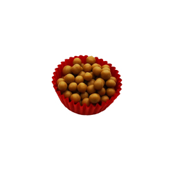 Декор з шоколаду зі смаком солоної карамелі - Callebaut Crispearls 20г.