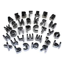 Набор металлических вырубок Русский алфавит