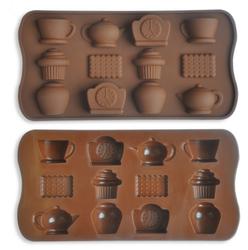 Форма силиконовая для конфет, льда Кухня на планшетке