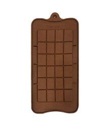 Форма силиконовая для конфет, льда Плитка шоколада на планшетке