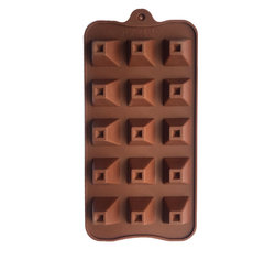 Форма силиконовая для конфет, льда Пирамидка на планшетке