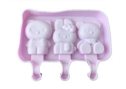 Форма для мороженого Китти с крышкой