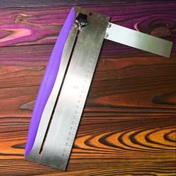 Шпатель-стійка кутова фіолетовий метал