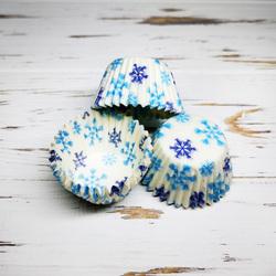 Форма для цукерок Снігопад 30х24 50шт.