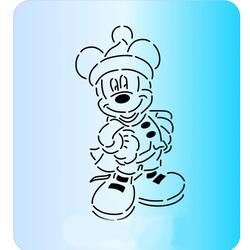 Трафарет + вирубка Мишка №76