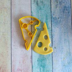 Вирубка для пряника Шматочок сиру №1