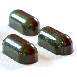 Поликарбонатная форма для конфет Капсула 21 шт.