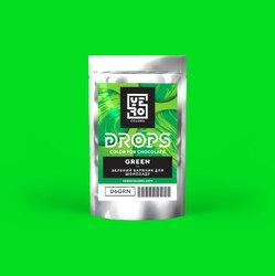 Дропси для фарбування шоколаду Yero Зелений 6г.