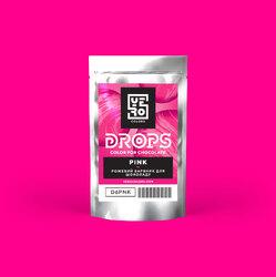 Дропсы для окрашивания шоколада Yero Розовый 6г.