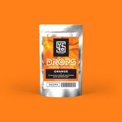 Дропсы для окрашивания шоколада Yero Оранжевый 6г.
