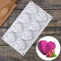 Форма силиконовая для евродесертов mini Amore Origami 8 ед