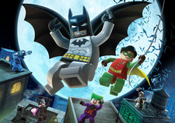 Картинка з мультика Бетмен Лего №1