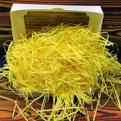 Наповнювач для коробок паперовий жовтий