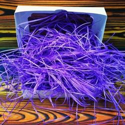 Наповнювач для коробок паперовий фіолетовий