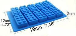 Форма силиконовая на планшетке Lego №2