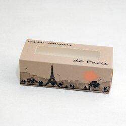 Коробка для макаронс Paris 141х59х49