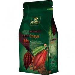 Шоколад чорний Cacao Barry Inaya, 65% - 1 кг оригінальна упаковка (CHD-S65INAY-E1-U68)