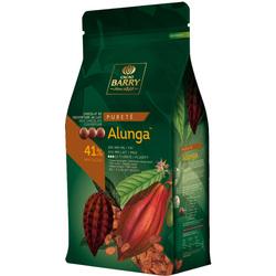 Шоколад молочний Cacao Barry Alunga 41% - 1 кг оригінальна упаковка (CHM-Q41ALUN-E1-U68)