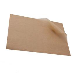 Пергамент бурый 376*595мм силиконизированный 1шт.
