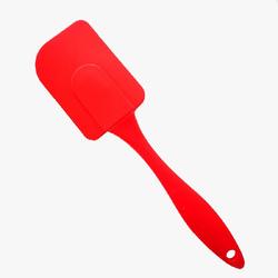 Лопатка силіконова №13 кольорова ручка 23 см