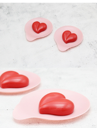 Форма силиконовая для евродесертов Hearts из 8 ед