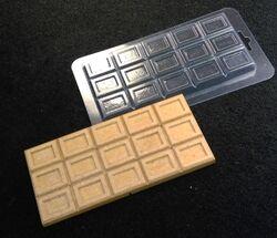 Молд пластиковий Плитка шоколаду №5