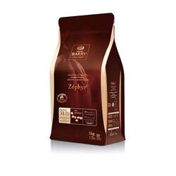"""Шоколад белый """"Cacao Barry ZEPHYR"""" 34 % - 5 кг Оригинальная упаковка (CHW-N34ZEPH)"""