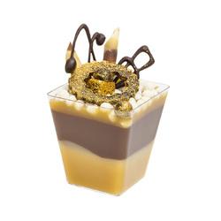 """Стаканчик для десертів """"Піраміда"""" 60 мл."""