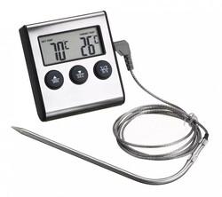 Термометр кухонний №6 з таймером і магнітом