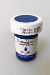 Краситель для шоколада Chefmaster Candy Color, Синий (Blue) 20g
