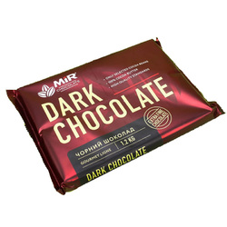 Шоколад черный ШК МИР 58 % - плитка 1,2 кг