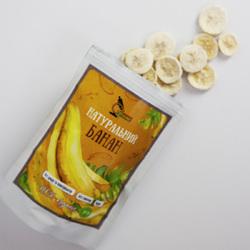 Банан слайсы сублимированный Смачні Технології 30 г