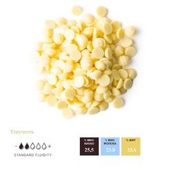 """Шоколад білий """"Callebaut S2"""" 25,5% - 0,1 кг фасування"""