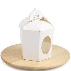 Коробка пасхальная 145х165х160 мм №8 Белая